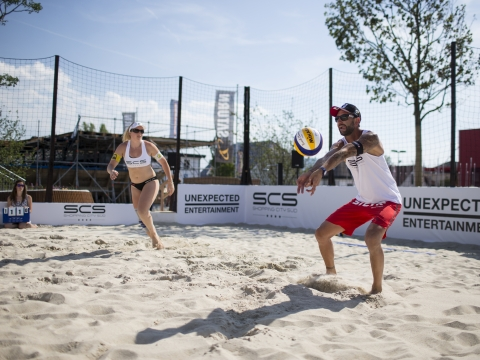 Beach Volleyball Equipment © Brandsetter